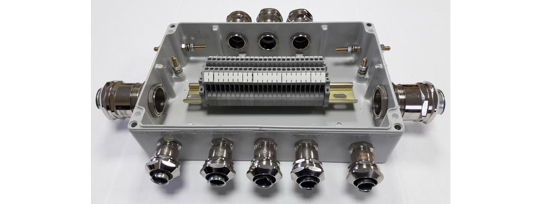 Коробка соединительная монтажная взрывозащищенная КСМ (i), КСМ (е)